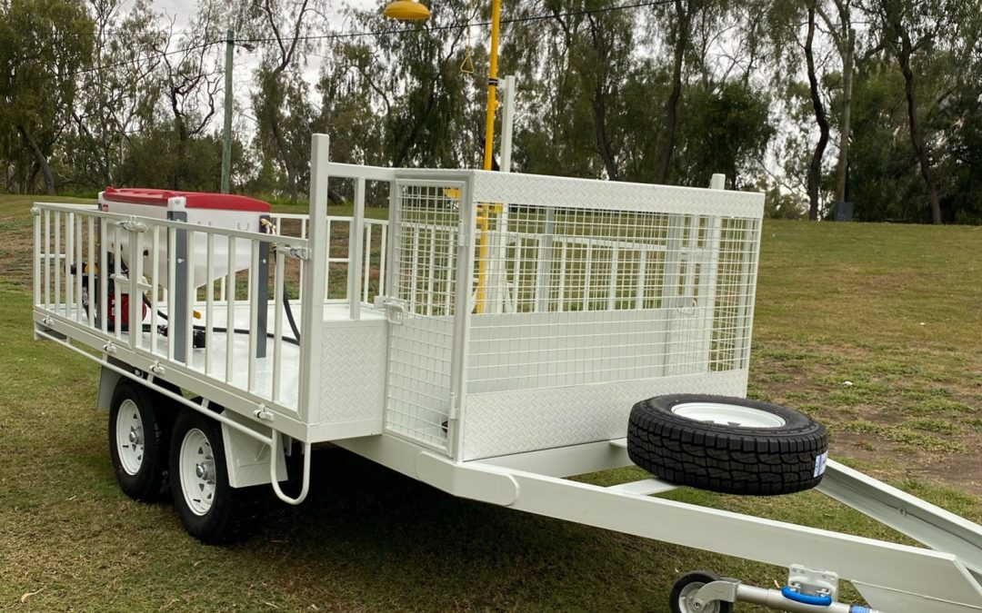 Chemical Mixing Trailer